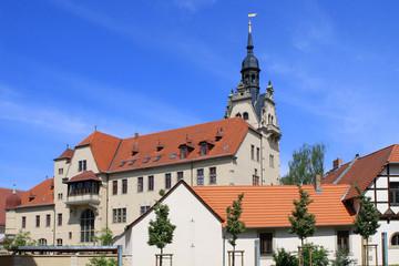 Rathaus in Bernburg im Salzlandkreis