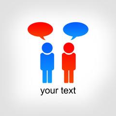 dialogue, contact