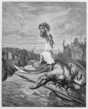 David slays Goliath poster