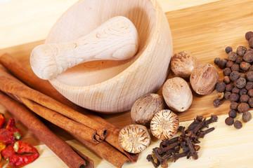 various natural spiciness