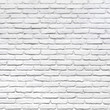 White brick wall for a background