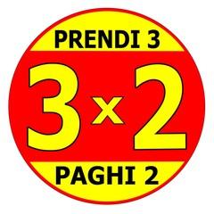 TRE PER DUE 3X2 SMAL