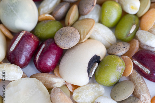 Mixed vegetables - closeup