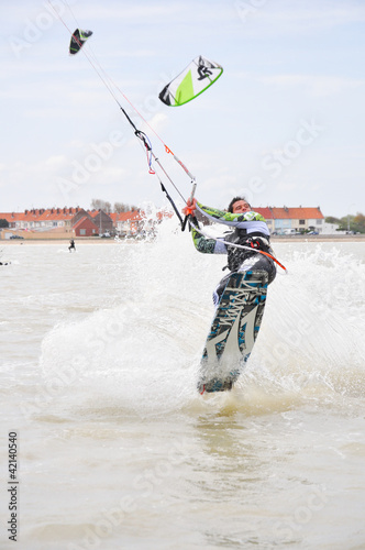 kite-surf saut