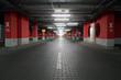 Underground parking garage