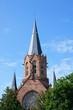 Evangelische Christuskirche in Karlsruhe (erbaut 1896 bis 1900)