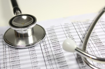 Stethoskop mit TAN-Liste