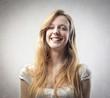 Lauhging girl