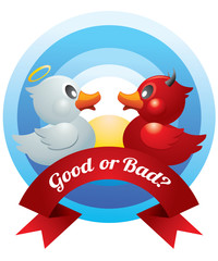 Good and Bad Ducks Duel