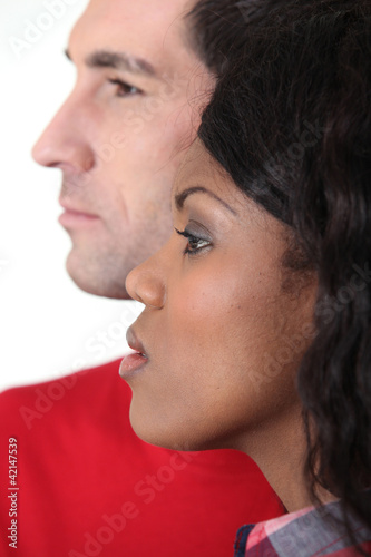 mixed couple