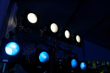 light for concert