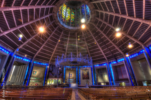 Liverpool Metropolitan Cathedral, UK.