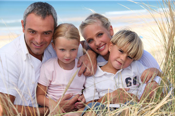 Family Portrait in a dune