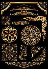 Altın desen seti