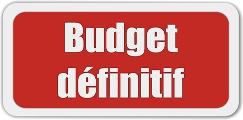 bouton budget définitif