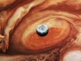Fototapeta kosmos - ozdoba - Widok z lotu ptaka