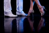 Fototapety Dancing feet