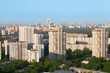 High-rise buildings at sunny morning in Moscow, Russia