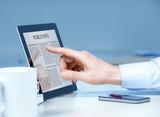Analyzing business news on modern device