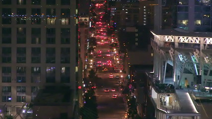 Time-lapse Traffic in Downtown