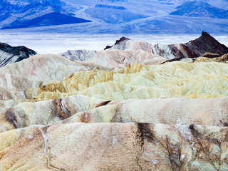Weather Erosion in Death Valley