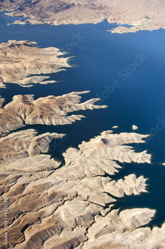 Aerial view of the Colorado River and Lake Mead - 42155312