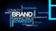 BRAND loyalty marketing branding tag cloud video animation