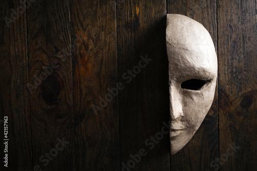 Leinwanddruck Bild Mask