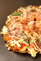 "Japanese Pancake ""OKONOMIYAKI"""