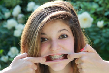 Funny expression with braces