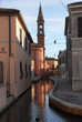 Italy Comacchio village downtown