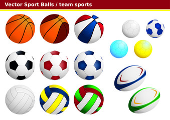 Ballons de sports collectifs