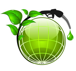 Ecology concept - Green Energy