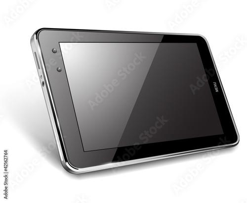 Tablet computer, vector illustration - 42162764