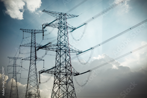 Leinwandbild Motiv power tower