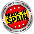 "Button ""Made in Spain"""