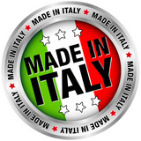 "Button ""Made in Italy"""