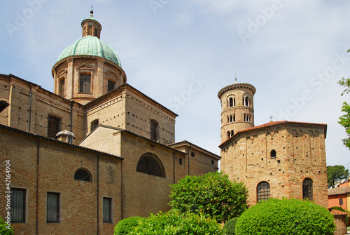 Ravenna The Neonian Baptistery and the Dome