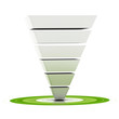 sales or conversion funnel, web marketing tool