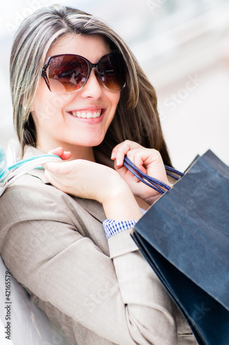 Fashion woman shopping