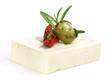 Schafstkäse mit Oliven