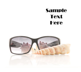 Sunglasses with Sea Shells