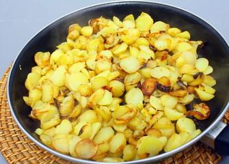 pomme de terre sautées dans la poêle