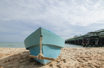 Boat in the beach, Thailand