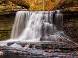 McCormick's creek Falls in Fall