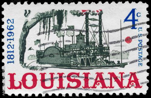 USA - CIRCA 1962 Riverboat