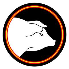 Pig emblem