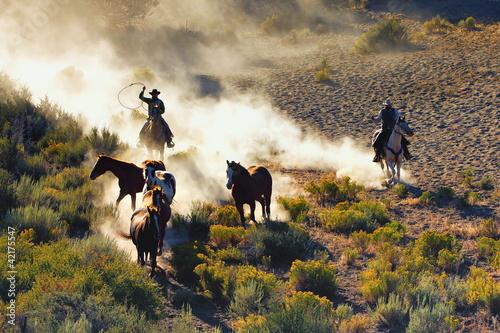 Leinwanddruck Bild Cowboy's Dream