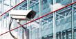 Leinwandbild Motiv Security Camera in a Modern Office