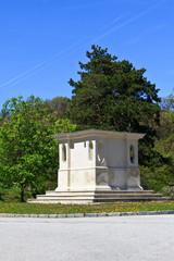 Empty monument